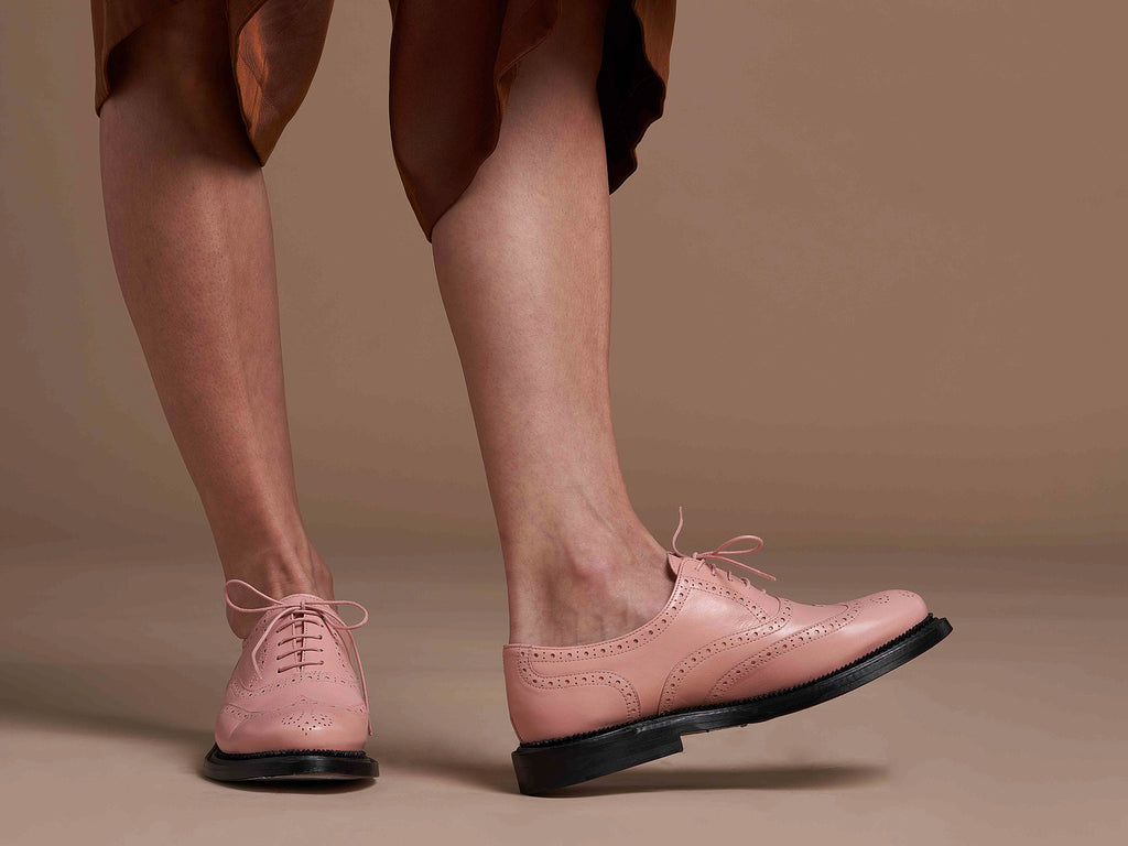 ESTÉE - Pink Oxford Shoe