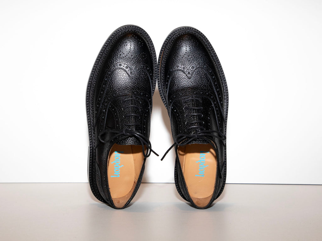 SAMPLE - ESTÉE - Black Oxford Shoe