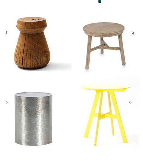 Lujo Picks - Our Favourite Side Tables