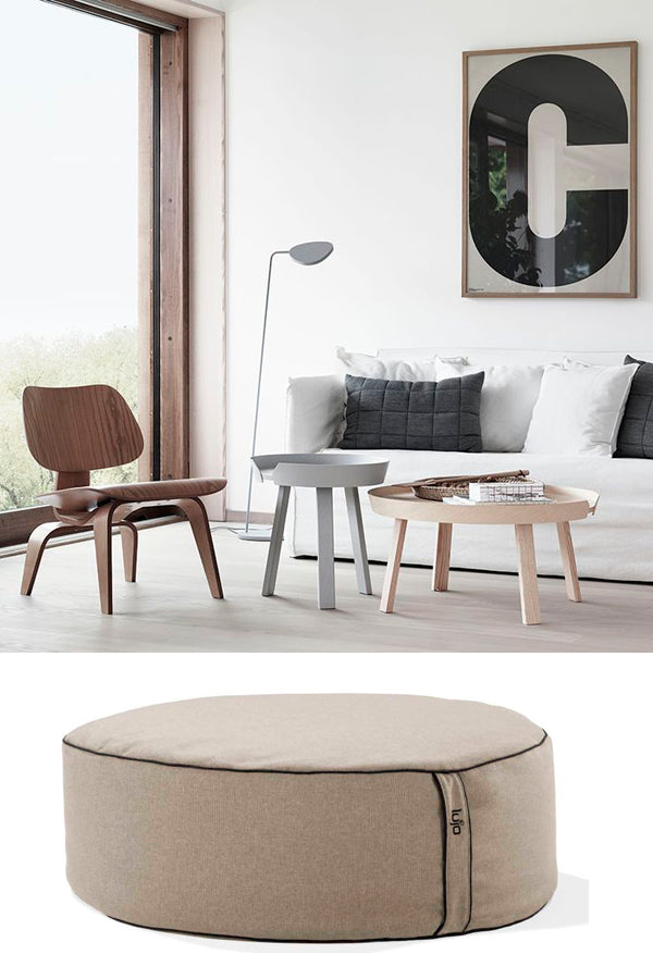 bean bag ottoman and designer furniture