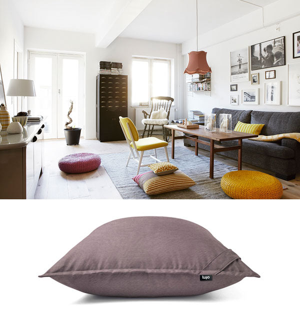 giant floor cushion and lounge furniture