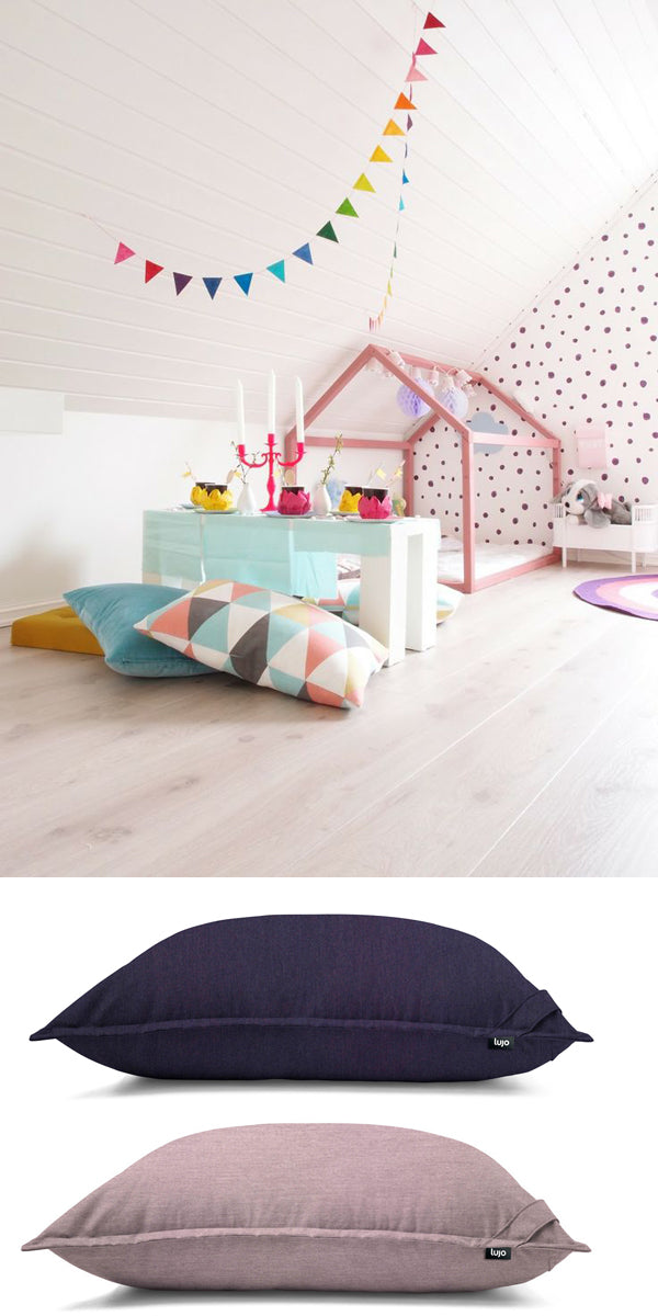 kids bedroom giant cushions