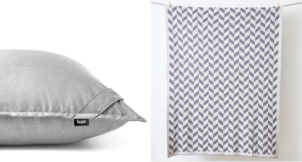 Lujo giant floor cushion and blanket