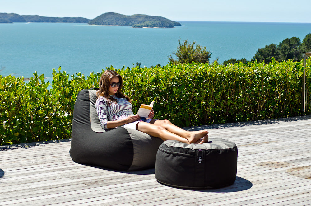Outdoor Bean Bag Chair Premium Quality Modern Design Lujo