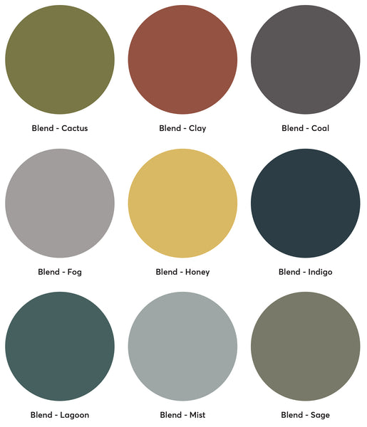 Lujo Blend Fabric Colour Palette