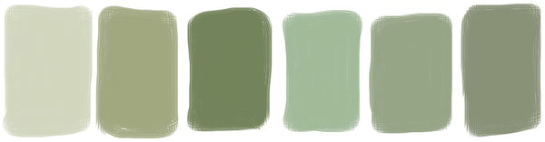 olive green colour palette