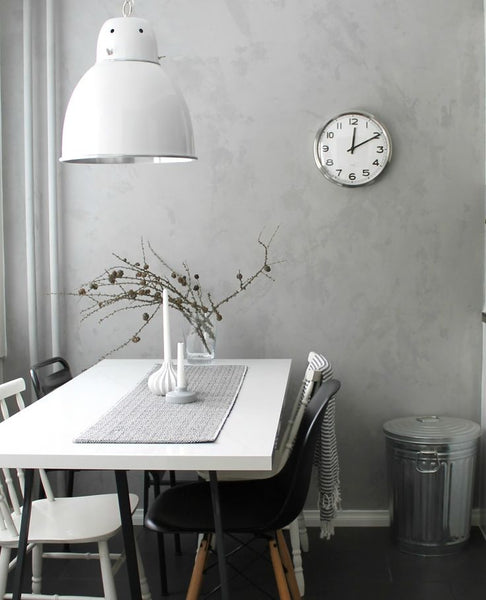 Feature Wall Light Grey : Lujo Designer Furniture BLOG Interior Inspiration - Soft Greys Lujo Living