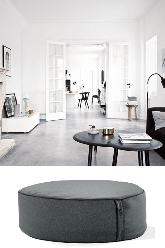 designer furniture home and beanbag ottoman