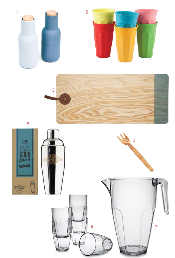 designer gifts for outdoor entertaining