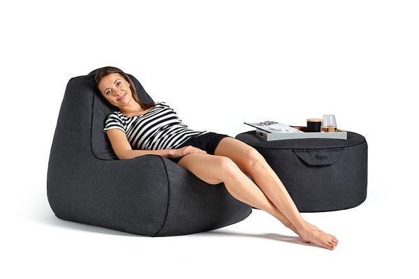 designer-outdoor-beanbag-chair-and-ottoman