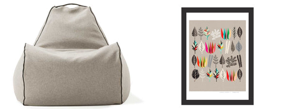 indoor-bean-bag-chair-and-art-print