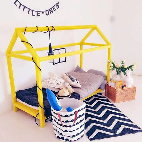 kids designer bed
