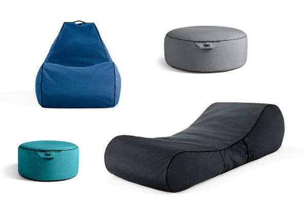 designer outdoor bean bags