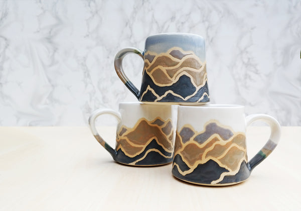 Mountain Pottery Mug