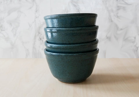 Ocean Blue Speckled Penny Lane Bowl