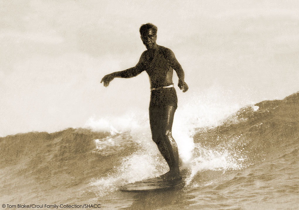 Duke Kahanamoku Surfing • Tom Blake Collection