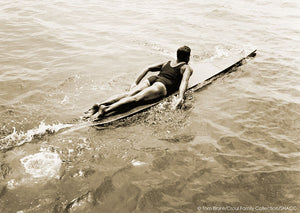 Prone Paddling • Tom Blake Collection