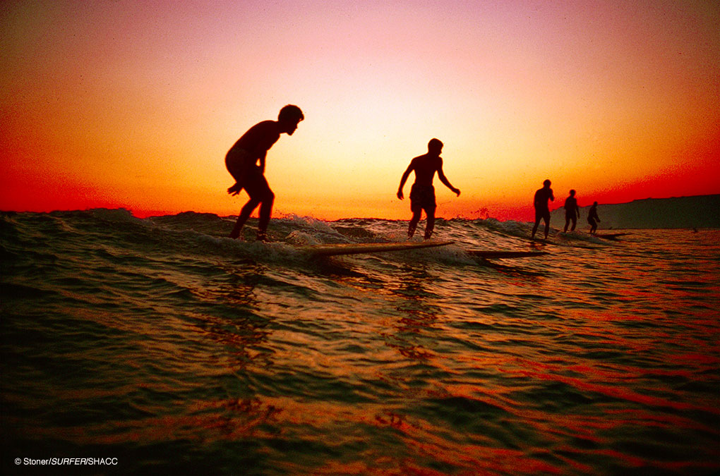 Doheny Sunset • Ron Stoner/SURFER Mag Collection