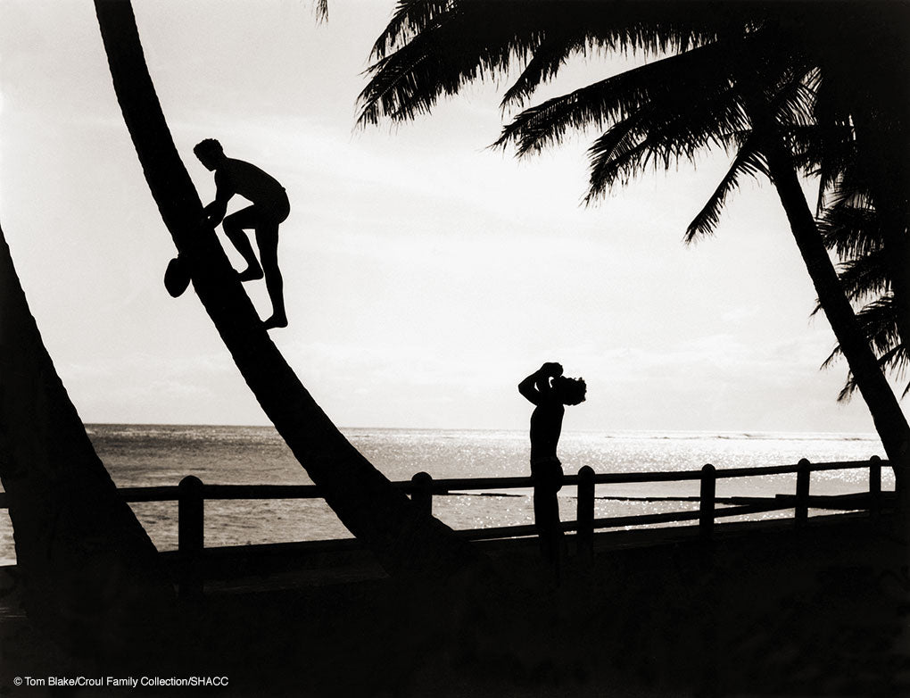 Hawaiian Silhouette • Tom Blake Collection