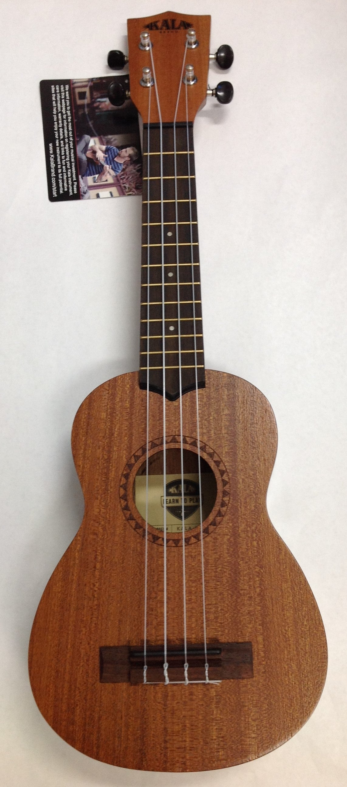 Kala learn to play starter Ukulele LTP-S