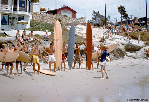 Brooks Street Contest, Laguna • Dick Metz Collection