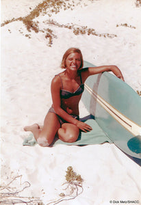 Surfer Girl, South Africa • Dick Metz Collection