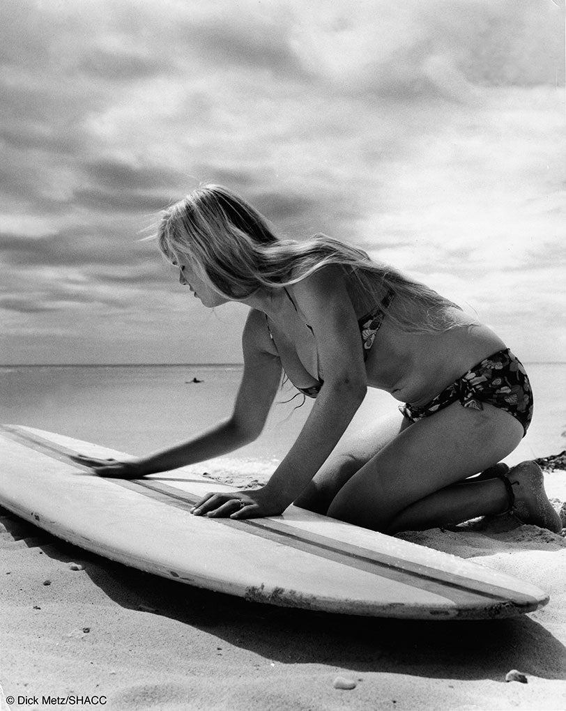 Sherry Haley, Waikiki • Dick Metz Collection