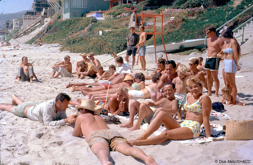 Laguna Beach Scene • Dick Metz Collection