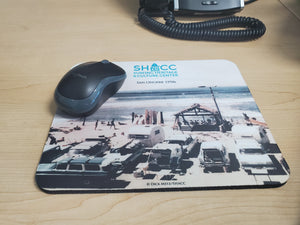 """The Shack"" at San Onofre Mouse Pad"