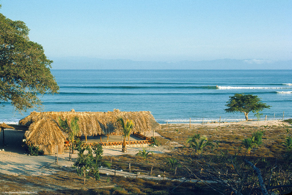 Beach Hut Paradise • Ron Stoner/SURFER Mag Collection