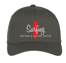 "Load image into Gallery viewer, SHACC ""Surfing"" Logo Flexfit - in Black and Dark Grey"