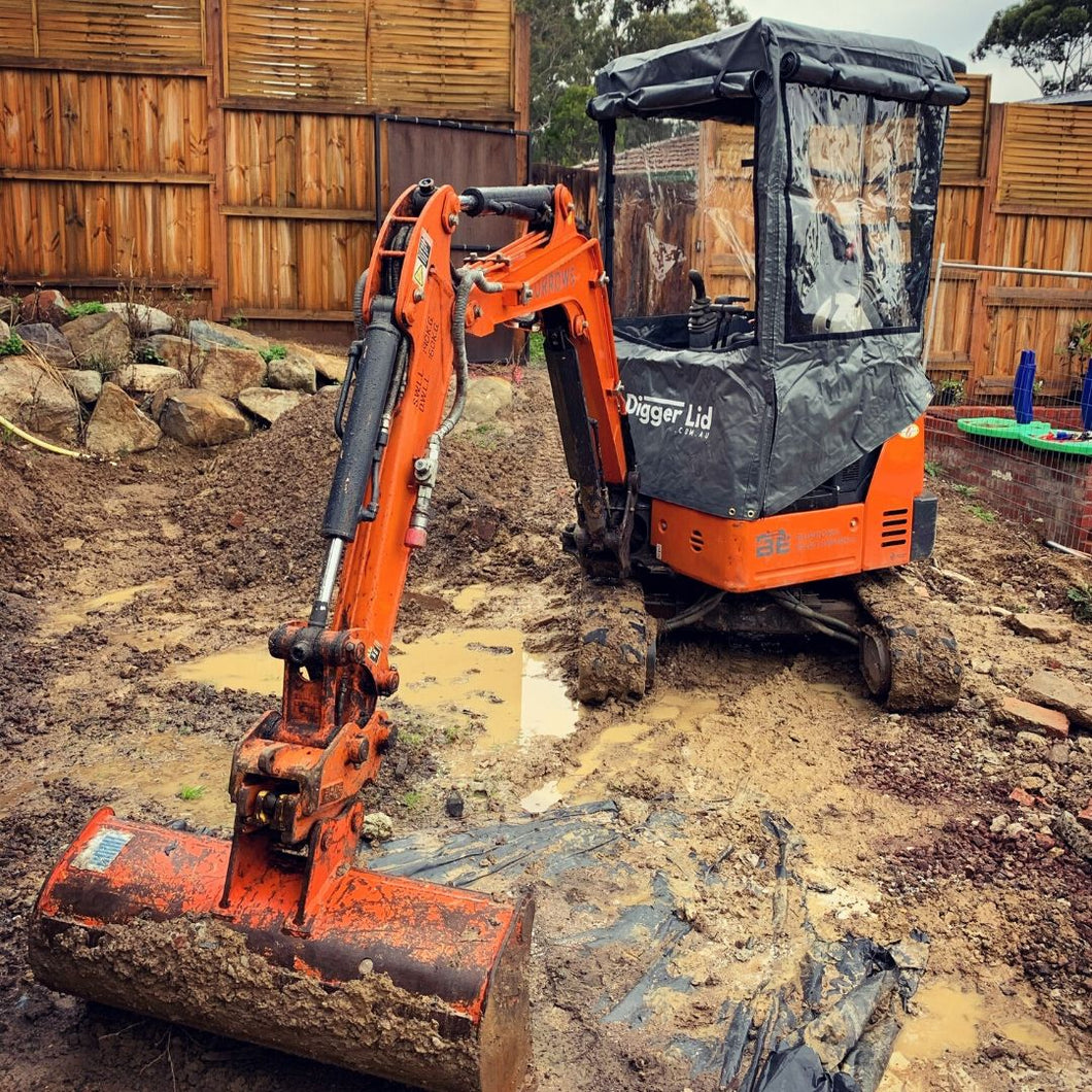 Digger Lid - Small Excavator Enclosure (ENQUIRE TO JOIN WAITING LIST) - Digger Lid