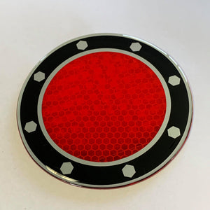 Reflective Tail Light Sticker  - BIG DISCOUNTS ON LARGER QUANTITIES - Digger Lid