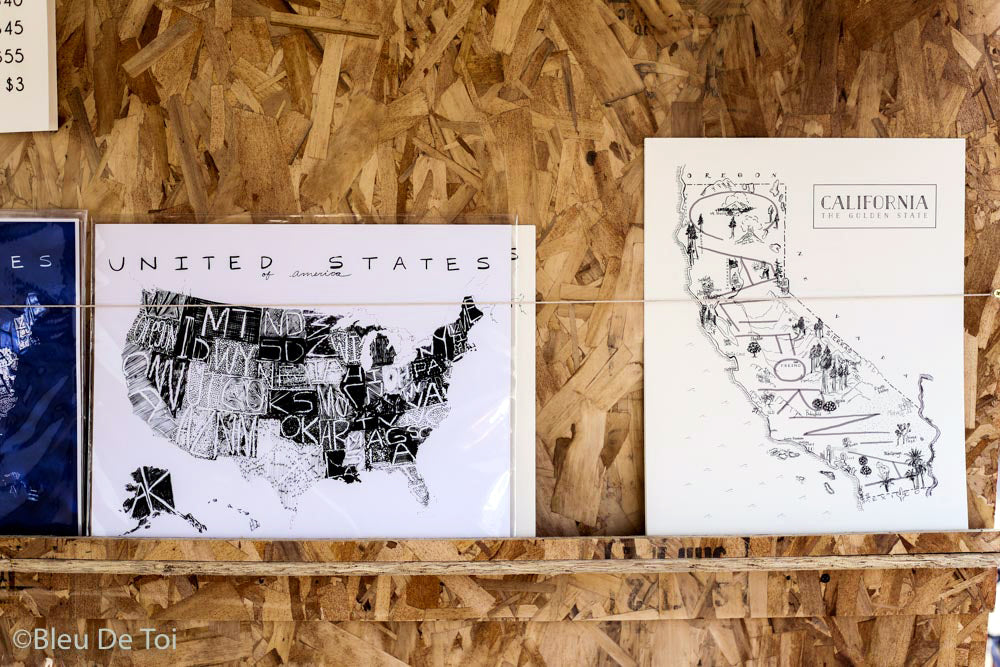 Maps & Readymade Prints