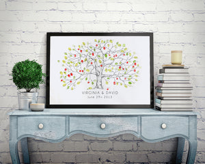 The Original Fingerprint Tree, apple