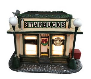 Vintage Starbucks First Store Replica