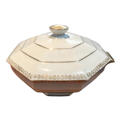 Art Deco Limoges Soup Tureen