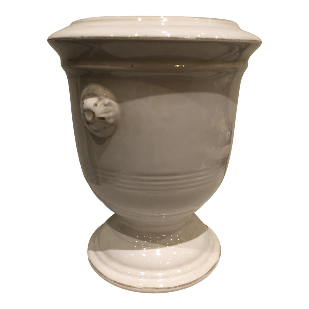 French Style White Jardiniere