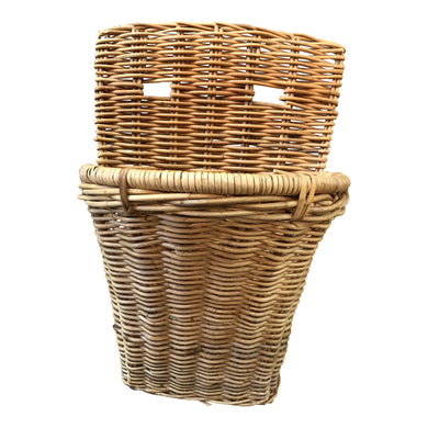 French Wicker Bakery Wall Basket