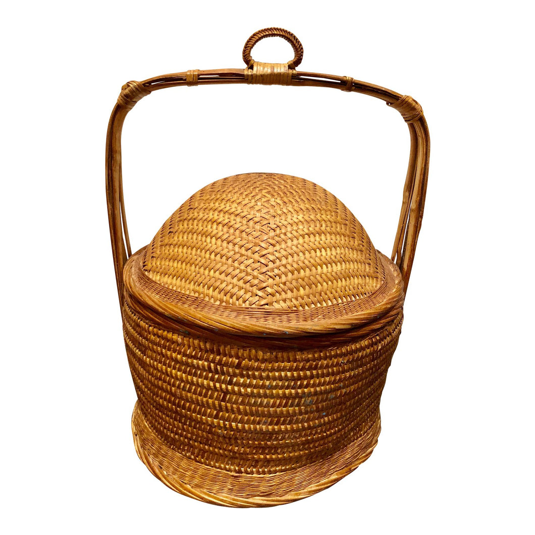 Hand-Weaved Chinese Wedding Basket