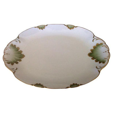 Mint & Gilt French Platter