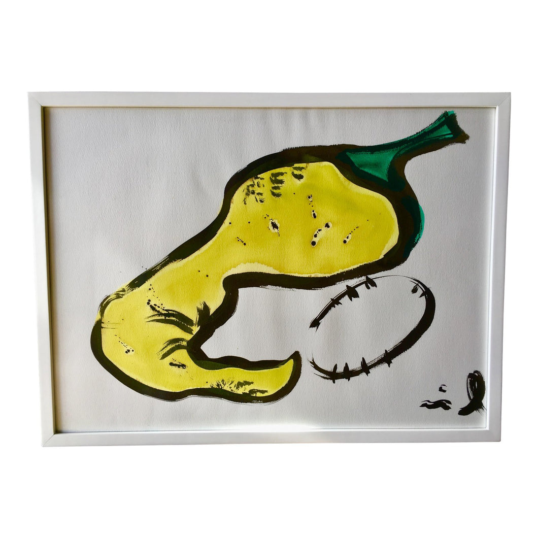 Original Mixed Media Chilly Pepper Painting