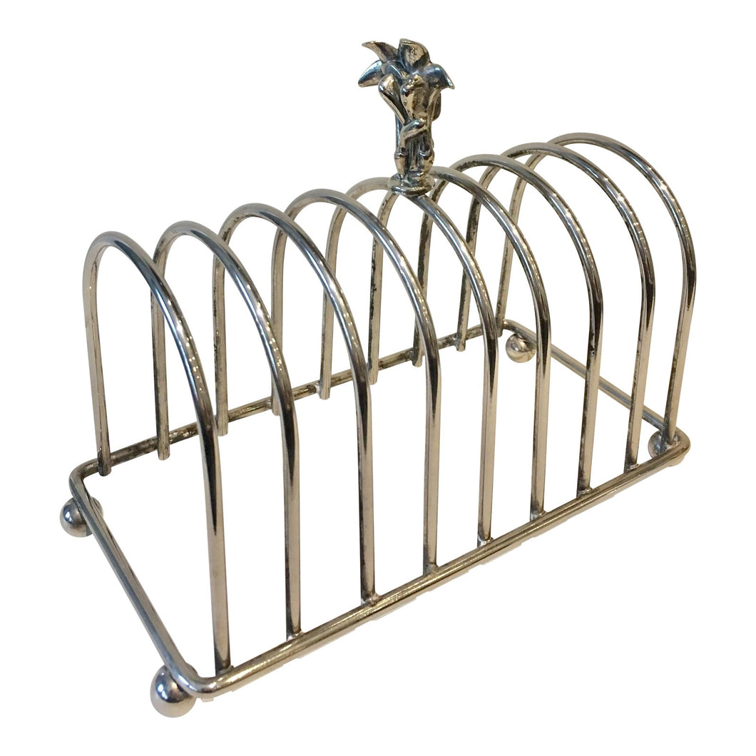 Silver-Plate English Toast Rack