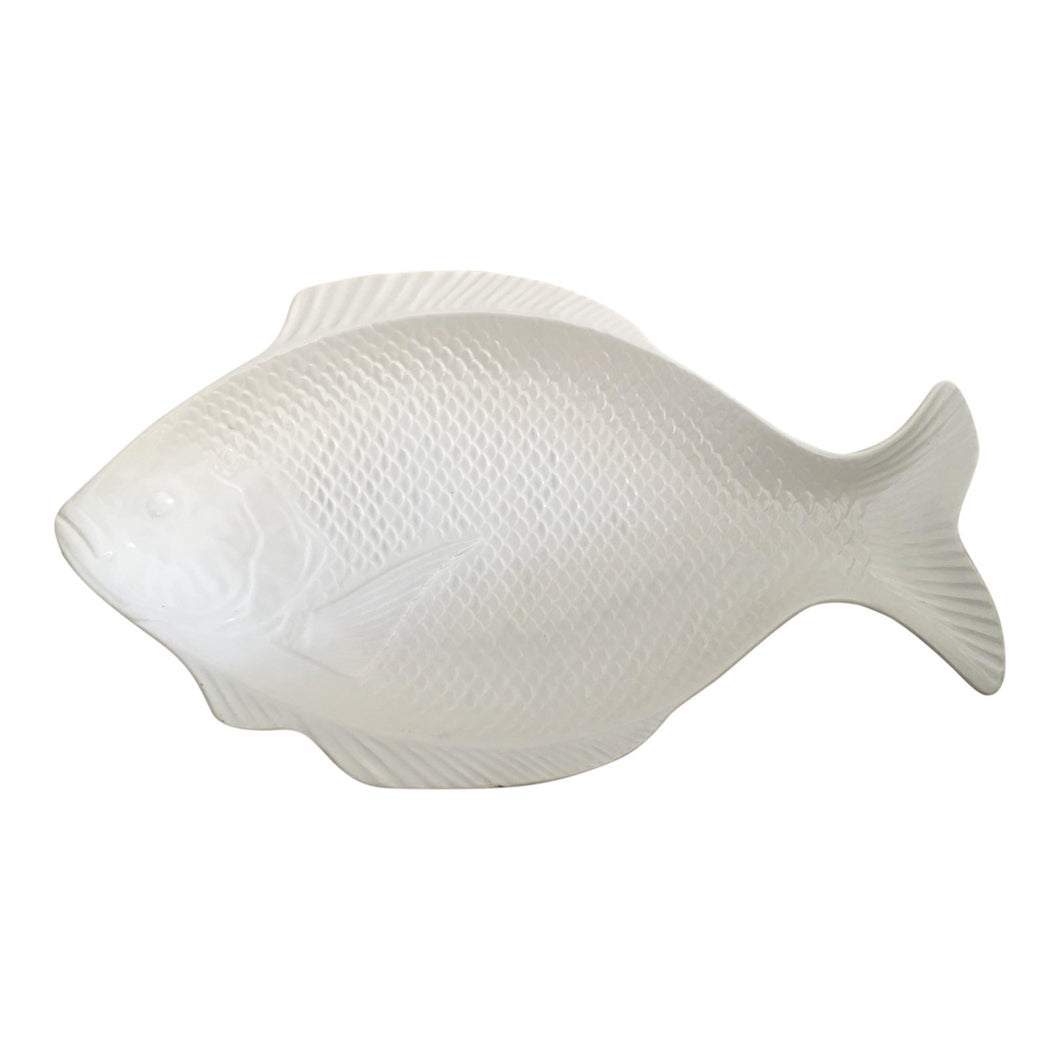 Vintage Fish-Shaped Platter