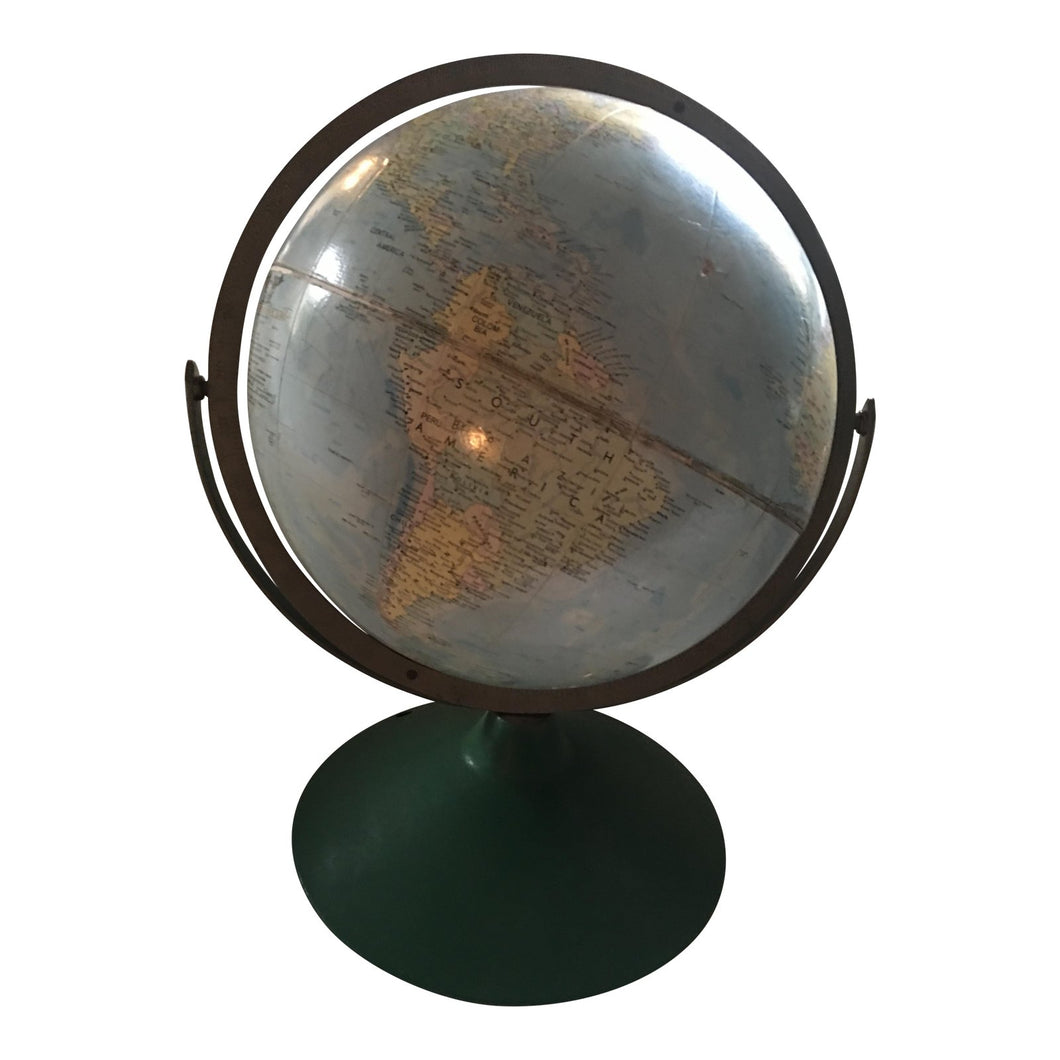 Vintage Replogle Comprehensive Globe
