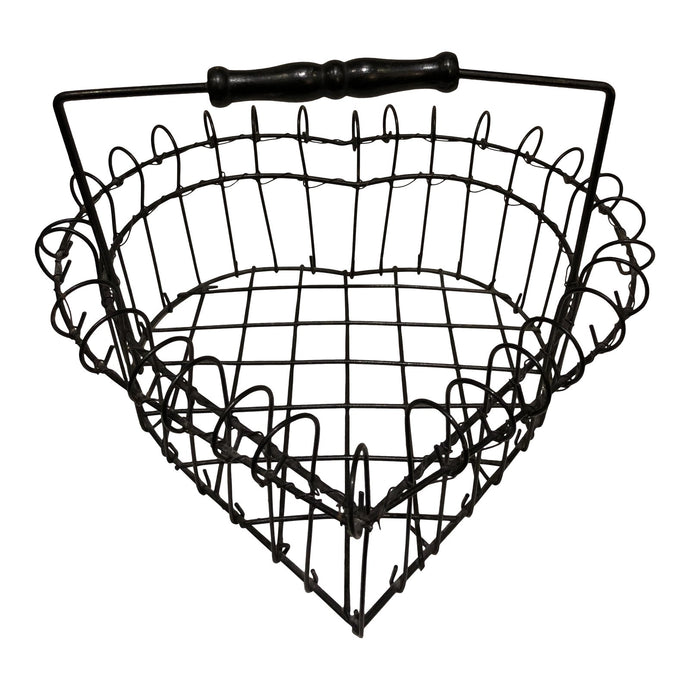 Wire Heart Shape Egg Basket