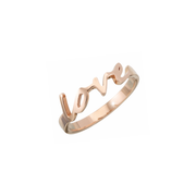 The Oliver Heemeyer Love Ring is the perfect choice to say ´I love you´. Either as a present for a loved one or yourself. Handcrafted and made of 18k rose gold.