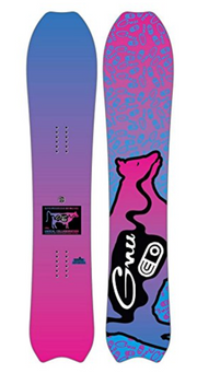 GNU X Airblaster Super Progressive Air Machine Snowboard Mens Sz 157cm