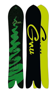 GNU Swallow Tail Carver Snowboard Mens Sz 157cm
