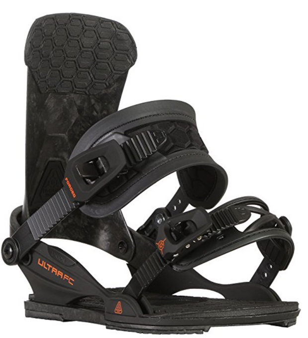 Union Binding Co - Mens Ultra FC Bindings 2018, Black
